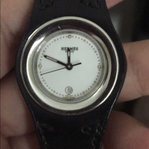Authentic gently used Hermes Harnais watch